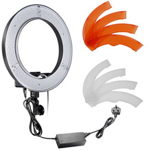 Neewer Camera Photo Video 18″ Outer 55W 240PCS LED SMD Ring Light 5500K Dimmable Ring Video Light with Color Filter set UK Plug