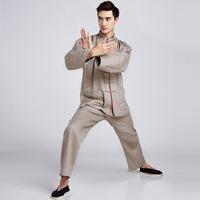 Adult Tai Chi Suits Wu Shu Clothes Kung Fu Uniform Morning Exercise The Performance Wear Clothing for Men