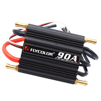 90A Waterproof Brushless ESC RC Boat Speed Controller Built in 5.5V/5A BEC