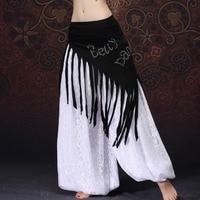 2017 New Women Bellydance Costume Accessories Wrap Belts Triangle Hip Belts Modal Belly Dance Beads Hip