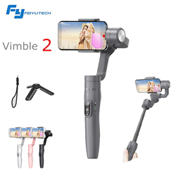 FeiyuTech Vimble 2 3-Axis Handheld Smartphone Gimbal Stabilizer PK Zhiyun Smooth Q 183mm Pole Tripod for iPhone X 8 7 Samsung S8