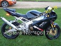Лидер продаж, все Черный ZX6R 636 для Kawasaki Обтекатели Ninja ZX 6R 03 04 ZX 6R ZX6R 2003 2004 Набор зализа ABS (литья под давлением)