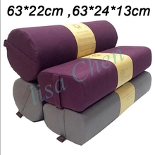 Cotton Cover Yoga Pillows Baby High-density PU Foam Lining