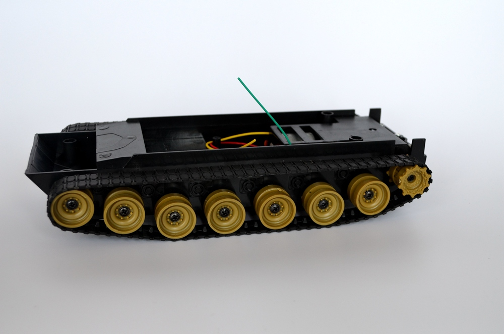 Cheap Robot tank Chassis platform DIY Chassis Smart track huanqi for Arduino New Dream X0108 tank robot diy chassis smart track with two carbon brush motor for arduino stainless steel tanks t100