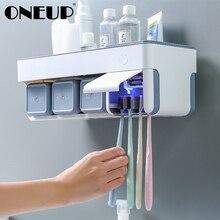 ONEUP Умный набор для стерилизации держатель для зубной пасты и для зубной щетки стеллаж для хранения бритва с чашкой органайзер для ванной комнаты Аксессуары