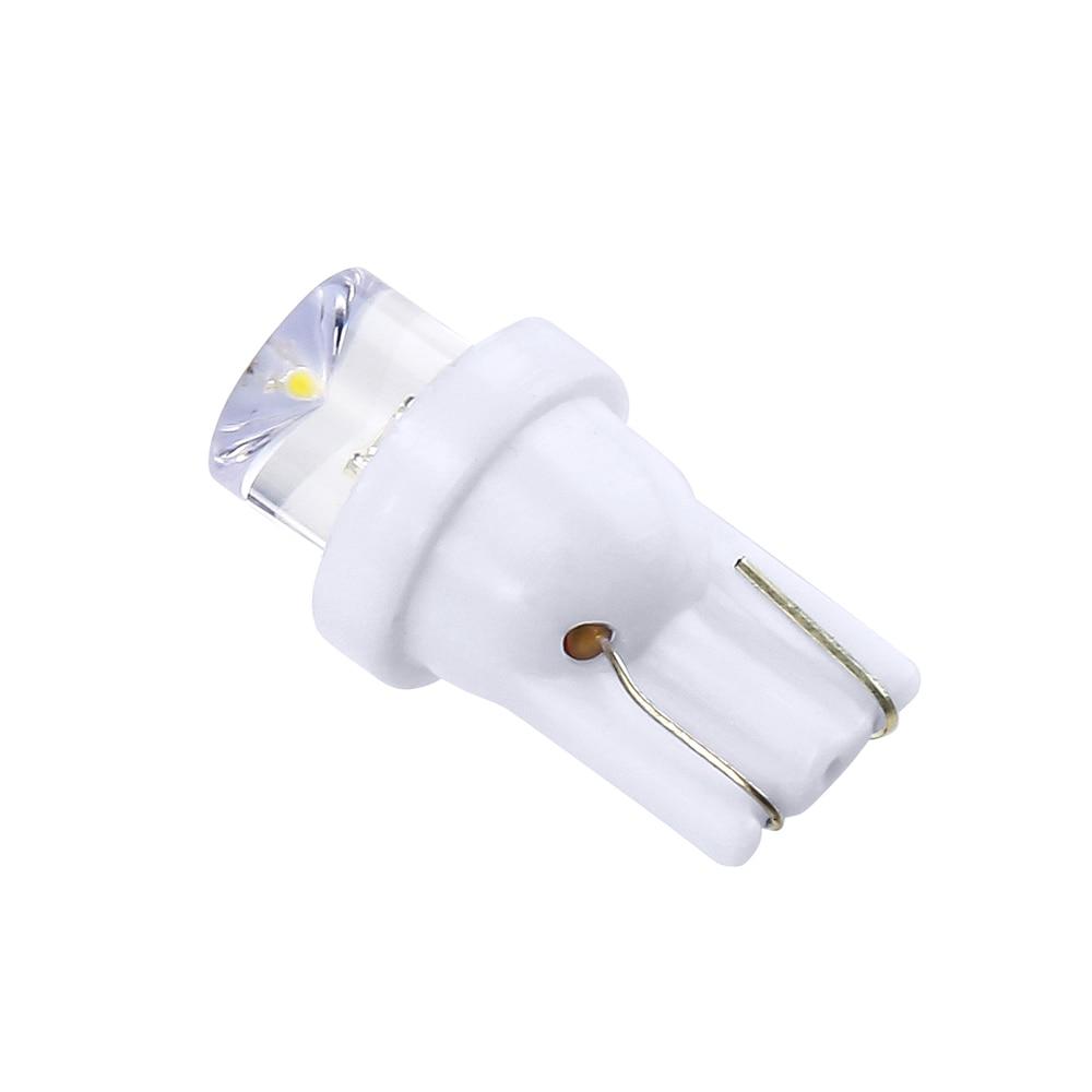 1pc 12V T10 LED W5W 5050 5SMD 192 168 194 White Lights LED Car Light Wedge Lamp Bulbs Super Bright DC License Plate Light DRL