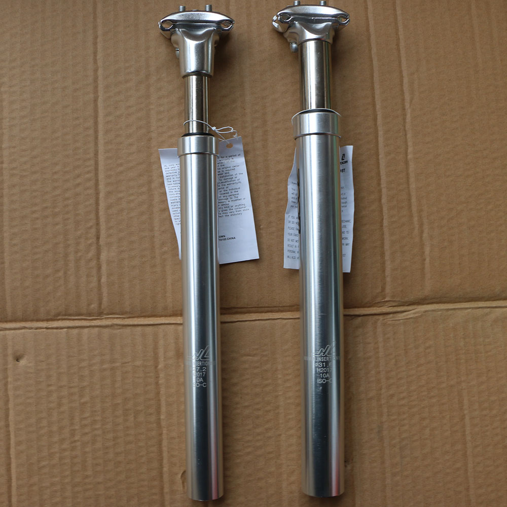 27.2//28.6//30.4//30.9//31.6//33.9mm X 350mm Bicycle Bike Seatpost MTB Road Saddle