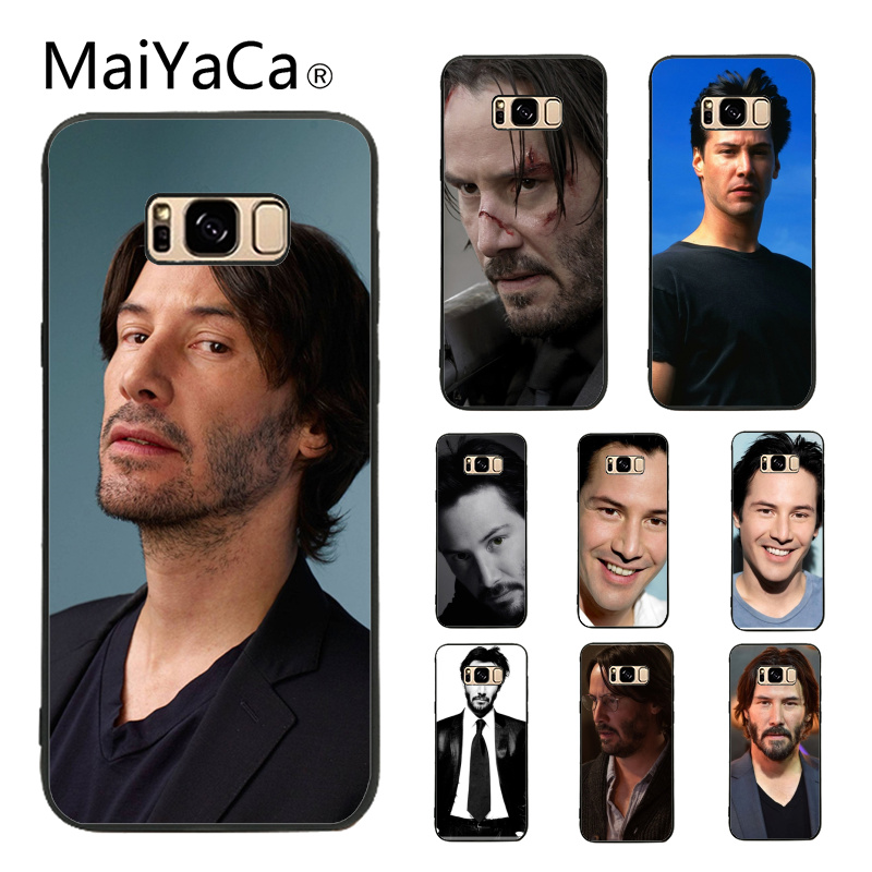 MaiYaCa Keanu Reeves John Wick New Personalized Print Phone Accessories Case For Samsung Galaxy S6 edge S7 edge ...