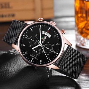 Image 3 - SWISH 2020 hommes montres de mode marque sport montres étanche militaire chronographe Quartz montre mâle Erkek Kol Saati