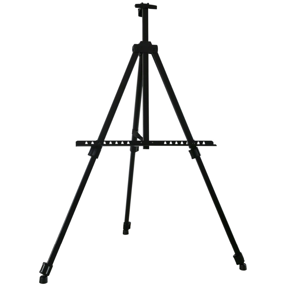 Transon Sketch Easel Foldable Easel Display Aluminum Alloy Easel Sketch Drawing For Artist Art Tools ,art supplies,free shipping mini easel 56 161cmlarge metal easel high grade aluminum alloy hand telescopic foldable sketch drawing frame art tools