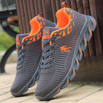 Men's Running Shoes Air Mesh Sneakers Outdoor Sport Shoes Comfortable Breathable кросовки мужские Black Sneakers chaussure homme