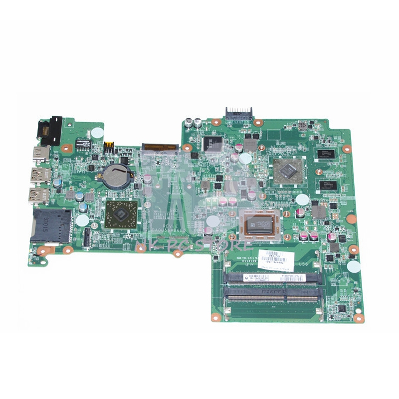 709176-501 709176-001 Main Board For HP Pavilion Sleekbook 15 Laptop Motherboard DA0U56MB6E0 A8-4555M CPU A70M MARS 1G DDR3