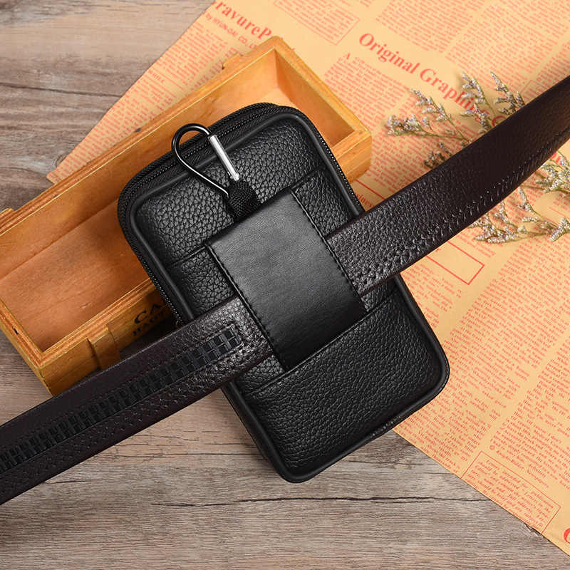 BISIGORO 耐摩耗性 Pu ホット販売屋外小さな財布ファニーパック多機能電話財布ウエストバッグヴィンテージにベルト