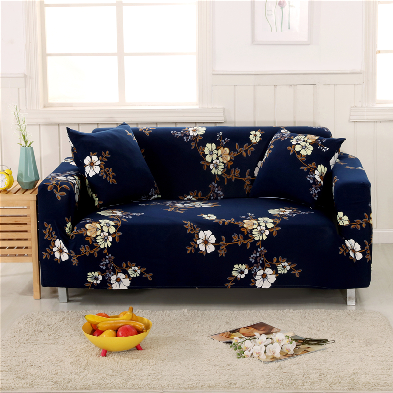 Monily Floral Elastic Couch Cover Protector Furniture Sofa Wrap Tight Slipcovers All Inclusive Sofa Cover Anti Slip Sofa Towel