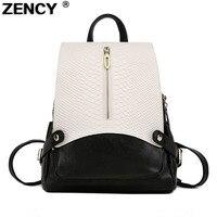 Известный бренд моды натуральная кожа крокодила узор Для женщин рюкзаки женские школьная сумка женский теплые дизайнерские рюкзак