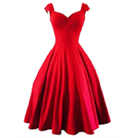 2018 summer dress women Sleeveless mid calf tank long dress square neck sleeveless red black A line plus size party sexy dress