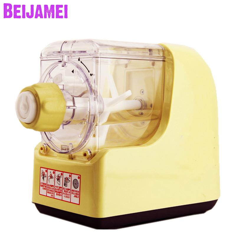 Beijamei Low price automatic fresh spaghetti maker commercial home use noodle pasta making machine for sale