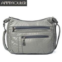 Bolso bandolera de diseñador para mujer, bolso de hombro de cuero de PU suave, bolso de mensajero de buena calidad, bolso de tamaño pequeño, Bolsos De Mujer