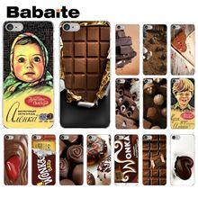 Babaite alenka bar wonka chocolate Coque Shell Phone Case for iPhone 5 5Sx 6 7 7plus 8 8Plus X XS MAX XR