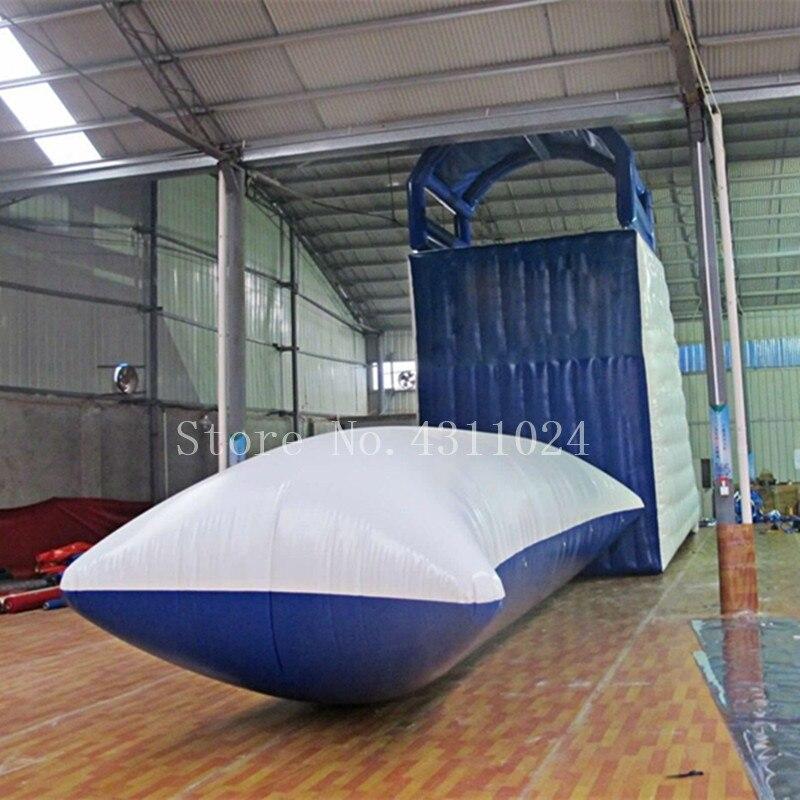 Le plus nouveau 7x2 m gonflable eau Blob saut oreiller eau Blob saut sac gonflable Trampoline de l'eau à vendre
