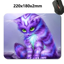 180*220*2m Large Fantasy cat Print 2017 New Arrival High Quality Durable Computer Rubber Gaming Anti-Slip Laptop PC Mouse Pad