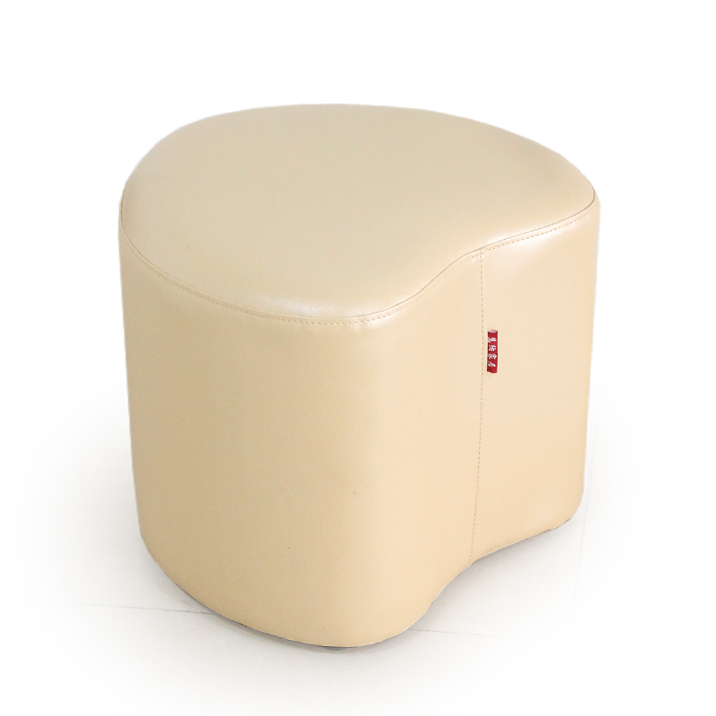 Hot sale high quality modern fashion shoes stool creative heart-shaped leather sofa stool free shipping free shipping hot sale lazy man instant sofa