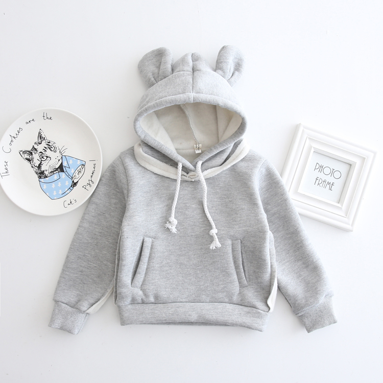 HTB1fIbvXlHwL1JjSszfq6yB4VXav - 1-5Yrs Children Hooded Sweatshirt Boys Cute Bear Ears Animal Hoodies Unisex Kids Clothing Girls Tops Coats Baby Casual Outwear