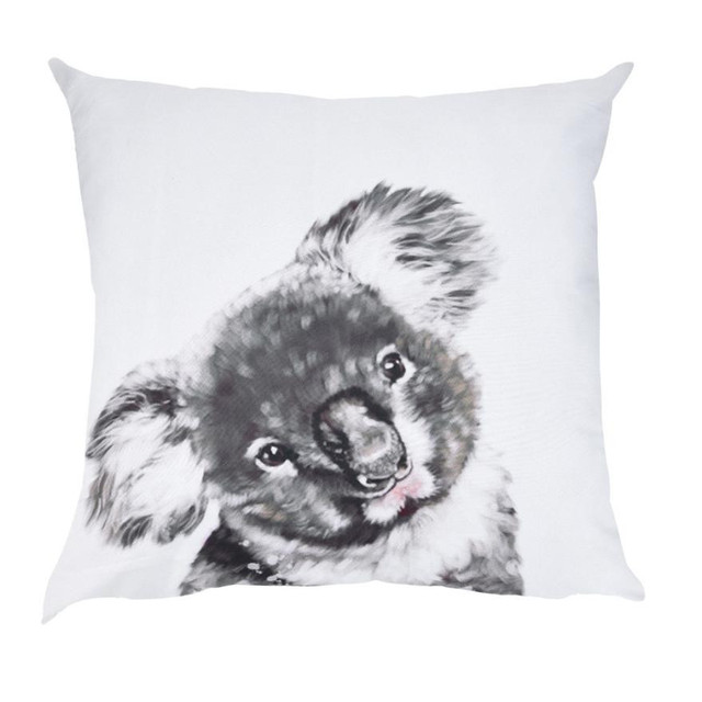ISHOWTIENDA коала печатная Полиэстеровая подушка крышка Богемия чехол для подушки с принтом дивана крышка Dakimakura декоративные подушки крышка