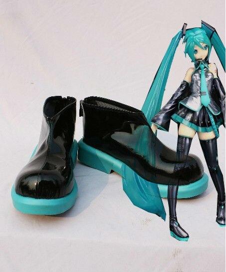Vocaloid Hatsune Miku Cosplay chaussures