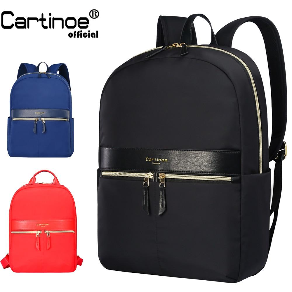 Cartinoe Fashion Wanita Ransel Gadis Tas Sekolah Tas Sekolah Laptop Minimalis 12 13 14 15 inch Laptop ransel untuk remaja