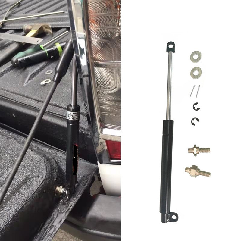 PICKUP CAR SLOW DOWN SHOCK UP SUPPORTS GAS REAR GATE STRUTS FIT FOR NISSAN NAVARA NP300 TAILGATE LIFT REAR TRUNK SPRING 2015+|Towing & Hauling| |  - title=
