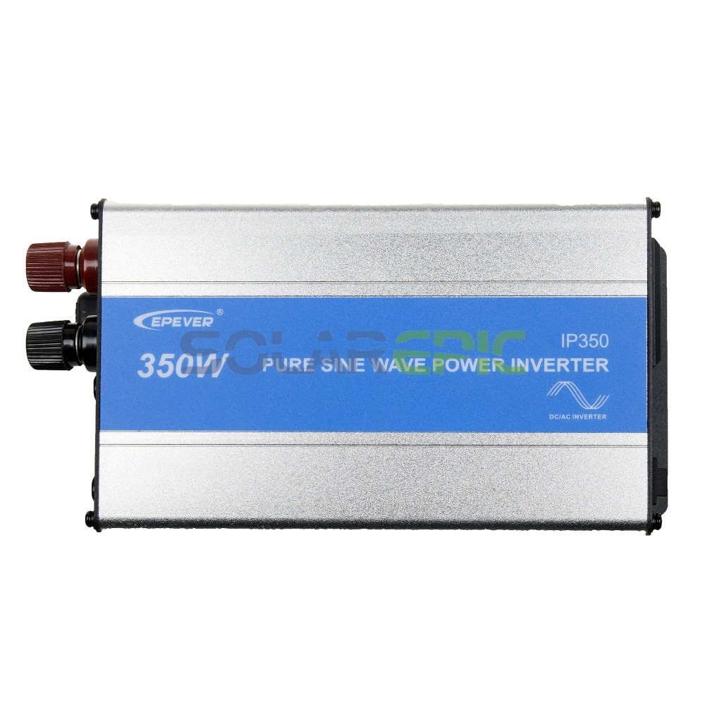 купить 350W Epever IPower Off Grid Inverter 12V or 24VDC to AC110V or 220V Pure Sine Wave Inverter 350W Solar Off Grid Inverter 50/60Hz в интернет-магазине