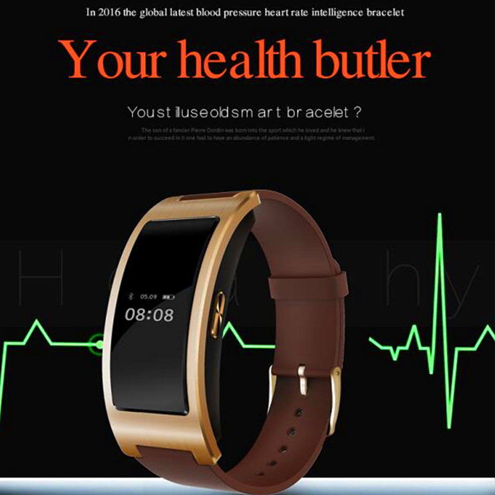 New CK11 Sport Bluetooth Smart Bracelet Watch Blood Pressure Heart Rate Monitor