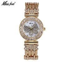 New Miss Fox Watches Fashion Butterfly Women S Watches Ladies Luxury Quartz Watch Top Brand Waterproof