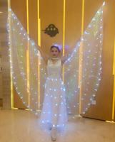 Belly Dancing Isis Wings 360 Led Performance Gleaming