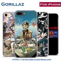 Gorillaz Music Band Popular illust Coque 2017 Phone Case Cover Shell Bag For Apple iPhone 7PLUS 7 6SPLUS 6S 6PLUS 6 5 5S SE 4 4S