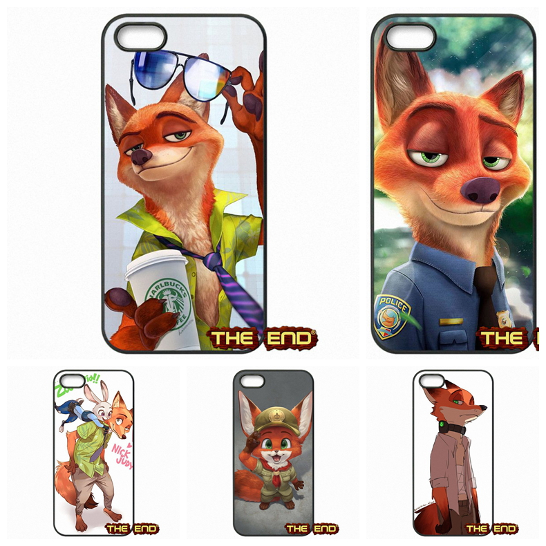 Nick Wilde and Judy Hopps Zootopia Cell Phone Cases For Sony Xperia M2 M4 M5 C C3 C4 C5 T3 E4 Z Z1 Z2 Z3 Z3 Z4 Z5 Compact