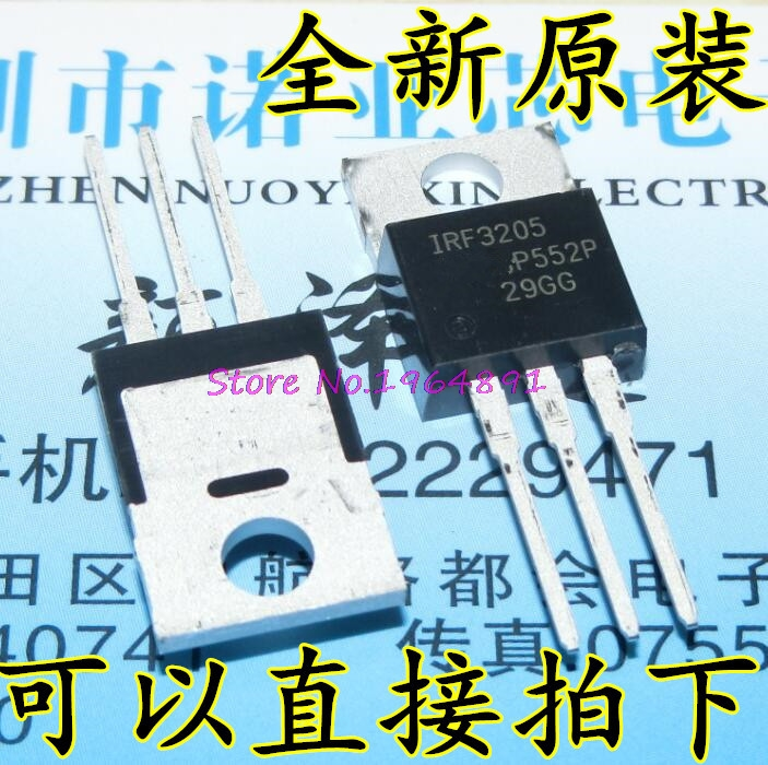 10pcs/lot IRF3205PBF TO220 IRF3205 TO-220 New Original In Stock