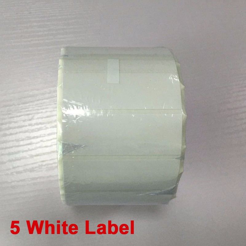 5 white label