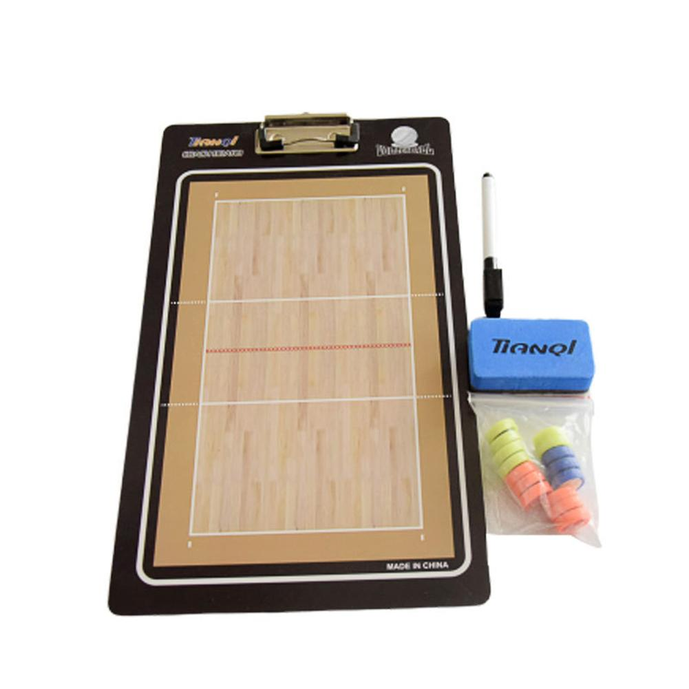 NEW Magnetic Volleyball Coach Tactical Board Match Training Teaching Coaching Plate