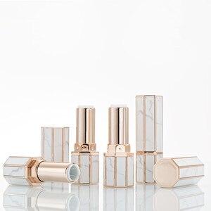 Image 2 - Tube de marbre pour rouge à lèvres, 12.1mm, Tubes pour baume à lèvres bricolage pour rouge à lèvres, fait maison, conteneurs vides, maquillage cosmétique pour anniversaire
