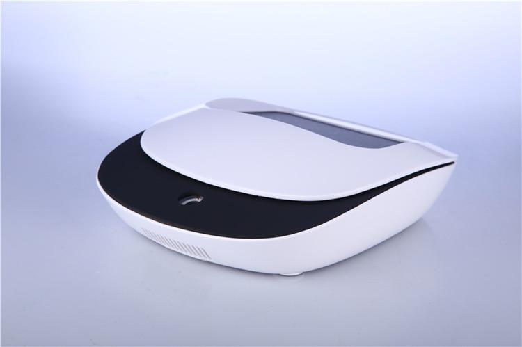 Solar energy Mini HEPA portable Negative ions car air purifier for car