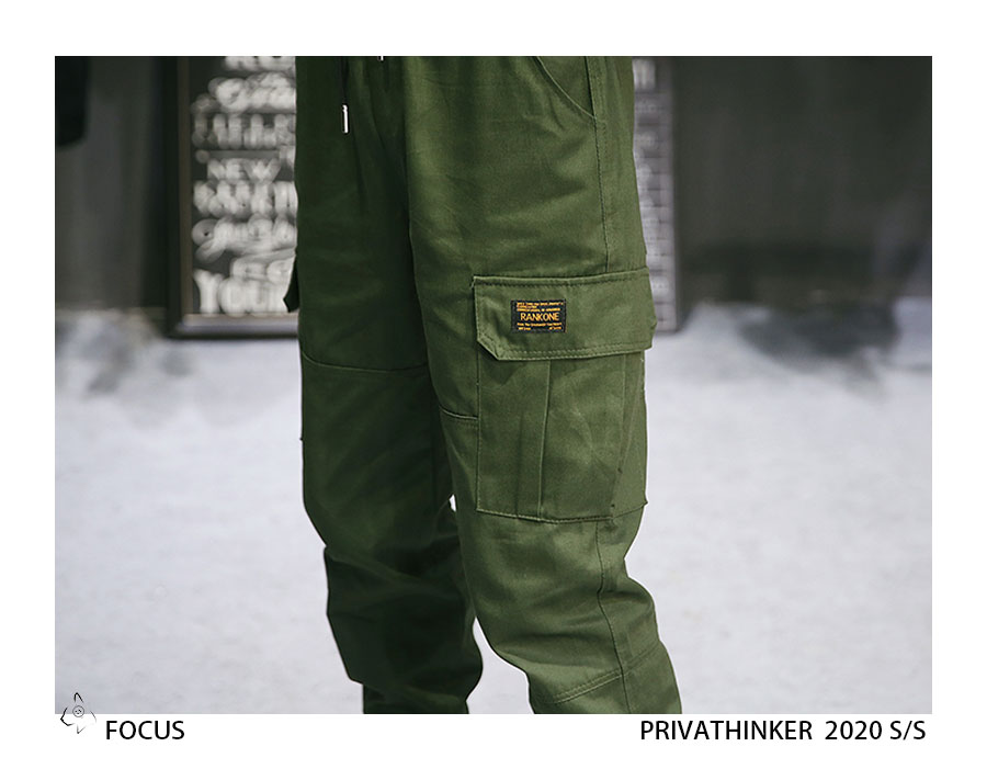 Privathinker Cargo Pants Men 2020 Mens Streetwear Joogers Pants Black Sweatpant Male Hiphop Autumn Pockets Trousers Overalls 72