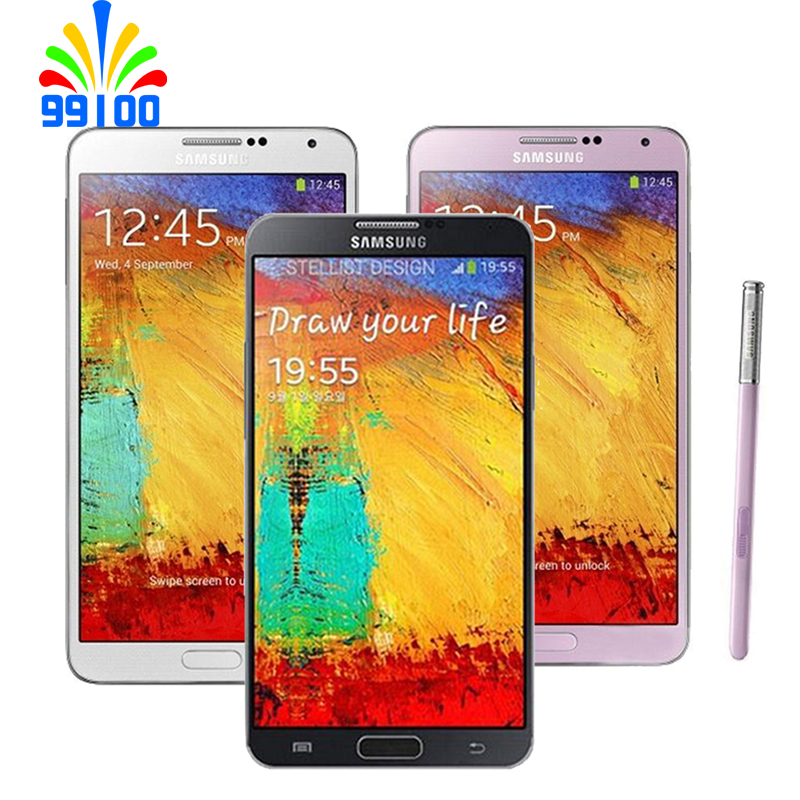 Refurbished Unlocked Samsung Galaxy Note3 Cell Phone 5.7 Inch Quad Core 3GB+16GB/32GB 13MP 3G WCDMA N900 N9005|Cellphones| - AliExpress