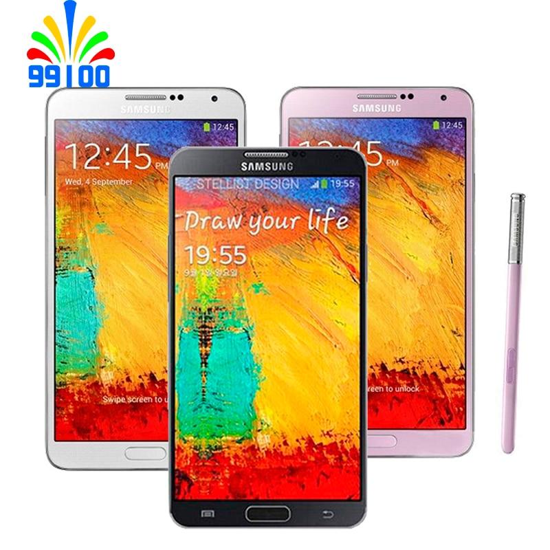 Восстановленный разблокированный сотовый телефон Samsung Galaxy Note3 5,7 дюйма четырехъядерный 3 ГБ + 16 Гб/32 ГБ 13MP 3G-WCDMA N900 N9005