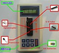 Integrated circuit tester, транзистор тестер ic тест Цифровой СВЕТОДИОДНЫЙ Тестер IC IC Детектор Метр для Обслуживания MOS PNP NPN