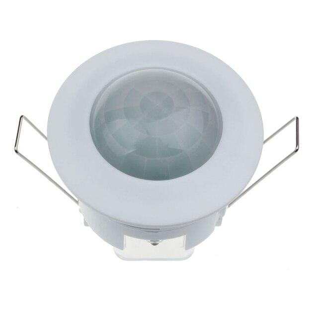 Feliz casa pir motion sensor mudar 360 graus 220 v teto infravermelho pir motion sensor detector de luz interruptor 1 peça