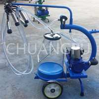 milking machine for cows