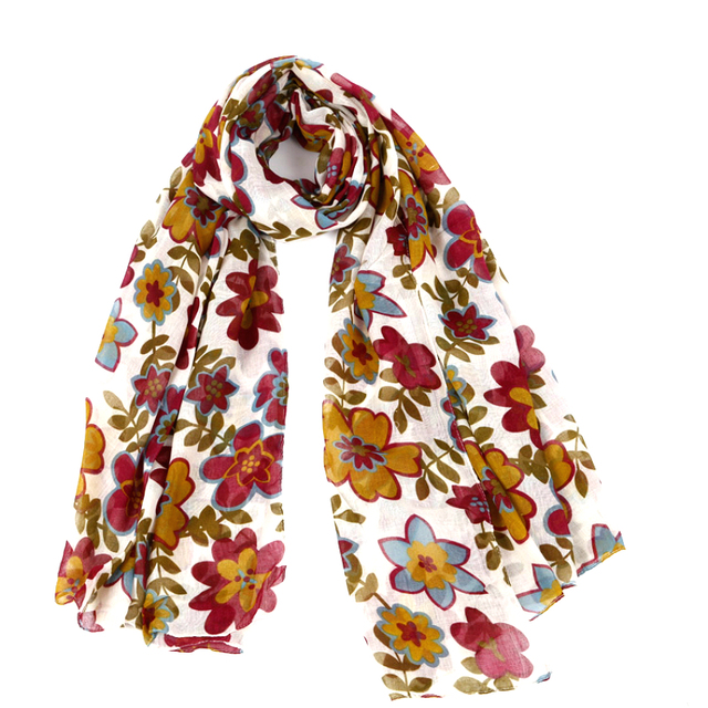 Desigual 175cm*110cm Women fashion long women scarf 2016 jewelry Flower print scarf shawl winter scarves for women