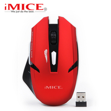 2000DPI Wireless Mouse 6 Buttons Gaming Mouse Gamer Mice 2.4G LED Optical Computer Mouse USB Receiver for PC Laptop Desktop